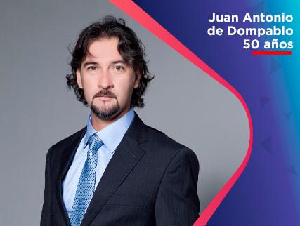 JUAN ANTONIO DE DOMPABLO - 50 AÑOS