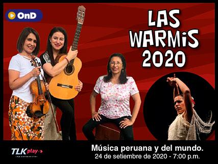 LAS WARMIS EN SU PRIMER CONCIERTO VIRTUAL 2020
