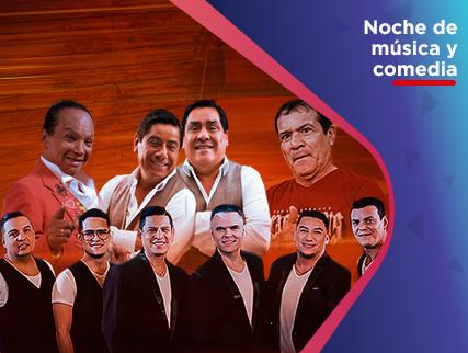 NOCHE DE MUSICA Y COMEDIA