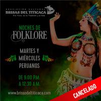 MARTES y MIERCOLES PERUANOS 2020 BRISAS DEL TITICACA ASOCIACION CULTURAL - LIMA