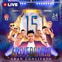 ANIVERSARIO 15 AÑOS / COMBINACIÓN DE LA HABANA STREAMING TLK PLAY - LIMA