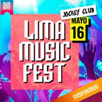 LIMA MUSIC FEST 2020 EXPLANADA PELOUSSE - JOCKEY CLUB - SANTIAGO DE SURCO - LIMA