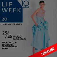 LIF WEEK 2020 COUNTRY CLUB LIMA HOTEL - SAN ISIDRO - LIMA