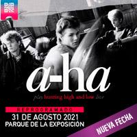 A-HA PARQUE DE LA EXPOSICIÓN - LIMA