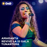 AMARANTA - REVIVE LA III GALA TUNANTERA STREAMING TLK PLAY - LIMA
