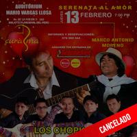 EDGAR CURASMA, MARCO ANTONIO MORENO Y LOS  CHOPKJAS TEATRO MARIO VARGAS LLOSA - SAN BORJA - LIMA