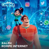 RALPH ROMPE INTERNET CINEVIAJEROS - SAN MIGUEL - LIMA