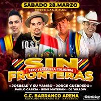 FESTIVAL SIN FRONTERAS CC BARRANCO ARENA - BARRANCO - LIMA