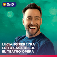 LUCIANO PEREYRA EN TU CASA DESDE EL TEATRO ÓPERA STREAMING ON DEMAND TLK - LIMA