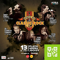 ICONS OF CLASSIC ROCK PLAZA ARENA - LIMA