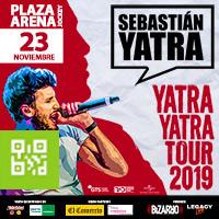 SEBASTIAN YATRA  - YATRA YATRA TOUR 2019 PLAZA ARENA - SANTIAGO DE SURCO - LIMA