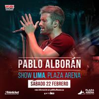 Entradas Pablo Alboran Prometo Edicion Especial Plaza Arena Santiago De Surco Lima