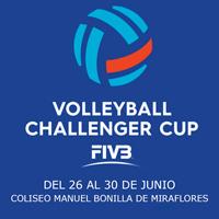 VOLLEYBALL CHALLENGER CUP COLISEO MANUEL BONILLA - MIRAFLORES - LIMA