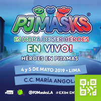 PJ MASKS - ES HORA DE SER HÉROES CENTRO DE CONVENCIONES MARÍA ANGOLA - MIRAFLORES - LIMA